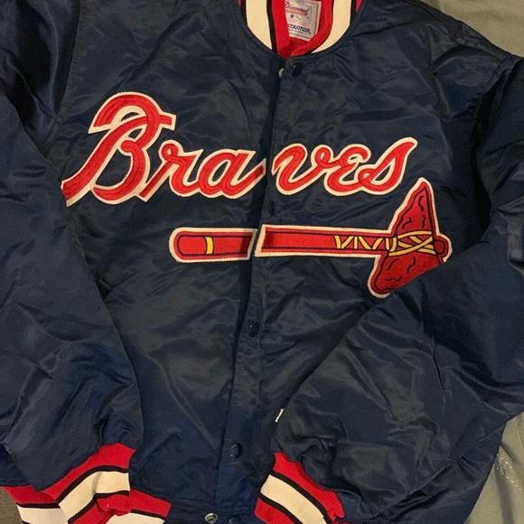wholesale dealer 6a375 e6583 Atlanta Braves Starter Clubhouse Jacket size Large